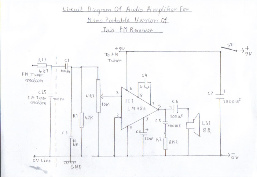 single conversion 6 transistor 10 7 mhz pulse counting
