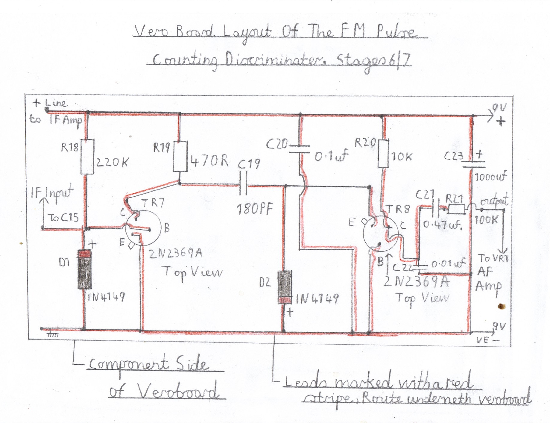 transistor fm superhet receiver Kitchen Wiring Plan Kitchen Wiring Drawing